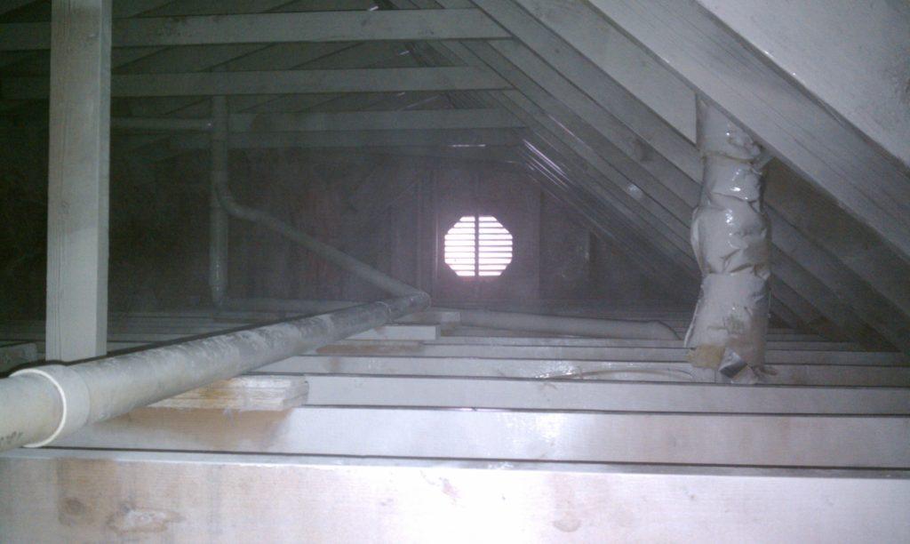 Killz in the attic