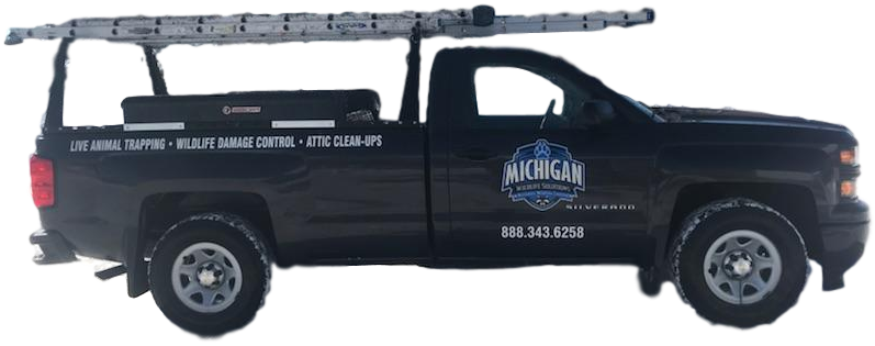 Michigan Wildlife Solutions Work Truck